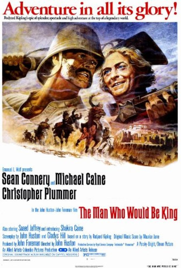 Image result for man who would be king poster