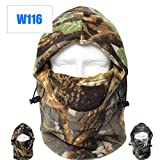 Dxnona® Outdoor Warm Windproof Camouflage Fleece Head Hat Face Mask