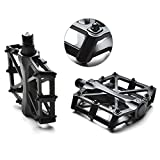 """Agptek Bike Bicycle Pedals 9/16"""" MTB BMX Bearing Alloy Platform Pedals for Mountain Cycling Road Bicycles"""