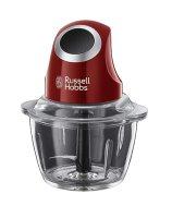 Russell Hobbs Hachoir Electrique Bol Préparation 1L, Lames Acier Inoxydable Amovibles, Ultra Résistant, Compatible Lave Vaisselles - 24660-56