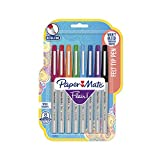 Paper Mate Flair Felt Tip Pens, Ultra Fine Point (0.4mm), Assorted Colors, 8 Count