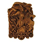 Dryad Design Morrigan Wall Plaque Wood Finish