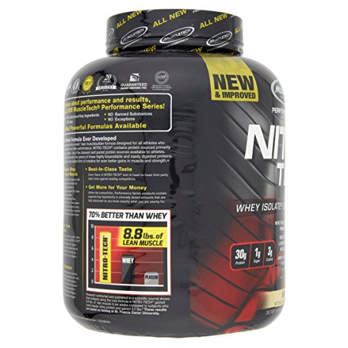 Muscletech Performance Series Nitrotech Whey Protein Peptides Isolate