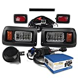 NEW RecPro CLUB CAR DS GOLF CART DELUXE STREET LEGAL ALL LED Light Kit...