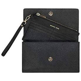 Michael-Kors-Womens-Jet-Set-Travel-Clutch-Crossbody-No-Size-Black