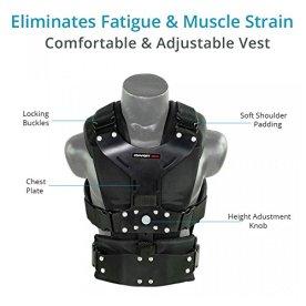 FLYCAM-Comfort-Stabilizing-Arm-Vest-for-Flycam-5000-3000DSLR-Nano-Handheld-Camera-Video-Steadycam-Stabilizer-up-to-5kg11lb-Stabilization-Body-mount-System-for-camcorders-Stabilization-CMFT-AV