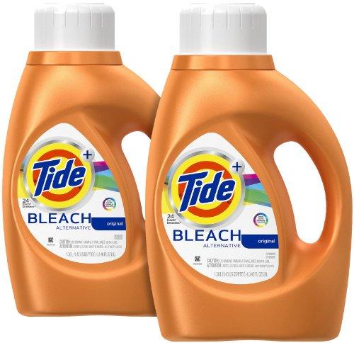 Tide Plus Bleach Alternative Liquid Laundry Detergent - 46 oz - Original - 2 pk