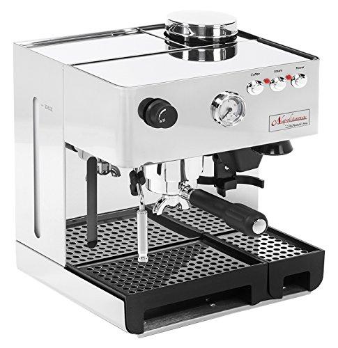 La Pavoni PA-1200 Napolitana Máquina de espresso automática de acero inoxidable
