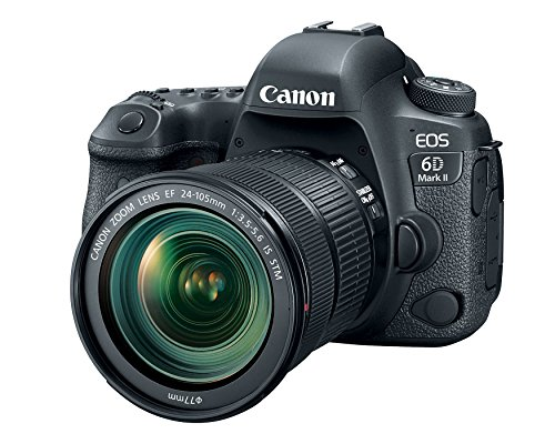Canon Cameras US 26.2 EOS 6D Mark II Body with 3″ LCD (Certified Refurbished)