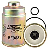 Baldwin Filters Fuel Filter, Spin-On Filter Design - BF9882
