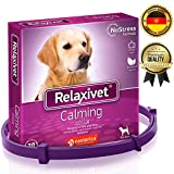 Adjustable Calming Collar for Dogs with Appeasing Effect - Dog Anxiety Relief - Anti-Anxiety Collar with Long-Lasting Calming Effect for All Sizes Dogs (26 inches)