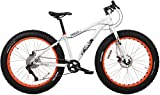 Framed Minnesota 1.2 White/Orange Fat Bike Sz 15in