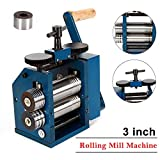 Manual Combination Rolling Mills Machine Combination Rolling Mill Machine Roller Metal Steel Jewelry Tabletting - US STOCK