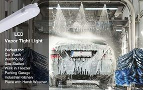 4FT-LED-Vapor-Tight-Light-60W-6600lm-120W-Eq-Waterproof-LED-Outdoor-Shop-Light-5000K-IP66-100-277V-LED-Vapor-Proof-Fixture-for-Parking-Garage-Car-Wash-Warehouse-UL-Listed-4-Pack-by-DAKASON