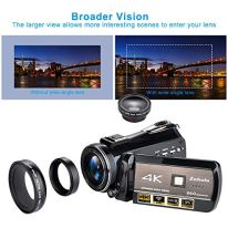 4K-Wifi-Full-Spectrum-Camcorders-Ultra-HD-Infrared-Night-Vision-Paranormal-Investigation-Video-Camera-with-60fps-24MP-30X-Digital-Zoom-Ghost-Hunting-Camerawith-2-batteries-32GB-SD-card-included