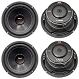4) New PYLE PLPW6D 6' 2400W Car Audio Subwoofers Subs Woofers DVC Stereo 4-Ohm