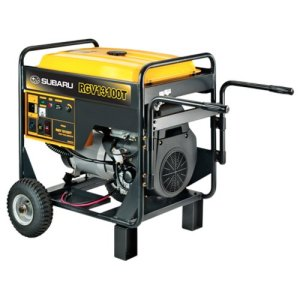 Subaru RGV13100T 20.5 HP Gas Powered Industrial Generator, 12000W