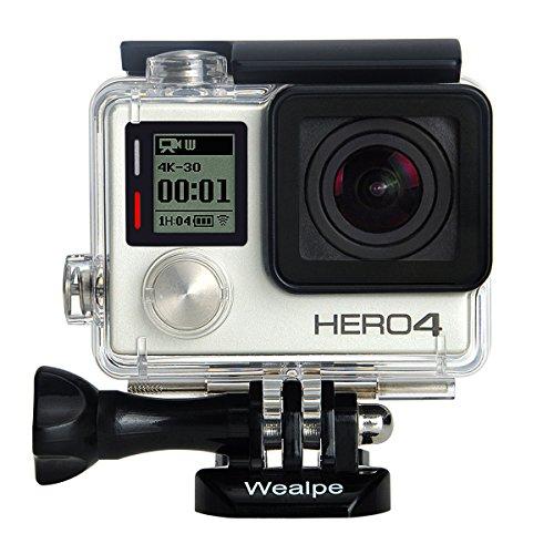 Wealpe Housing Frame for GoPro Hero 4, 3+, 3 Cameras