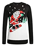 Product review for SSLR Men's Crew Neck Pullover Ugly Christmas Sweater