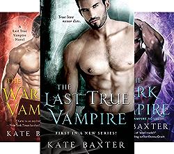 Last True Vampire Series (6 Book Series) by  Kate Baxter