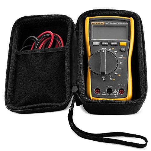 Hard CASE fits Fluke 117 & 115 True-RMS Digital Multimeter Compact. By Caseling