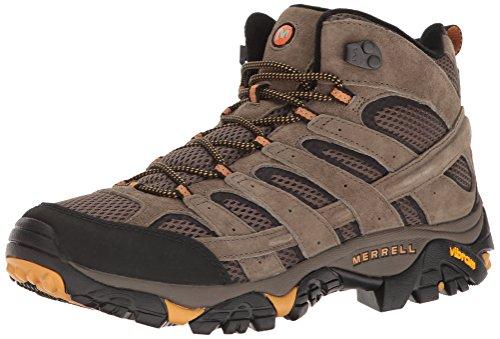Merrell Men's Moab 2 Vent Mid Hiking Boot, Walnut,...