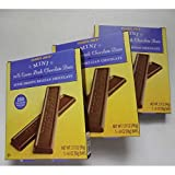 Trader Joe's Mini 70% Cacao Dark Chocolate Bars. Super Smooth Belgian Chocolate. 100 Calories Per Bar. Bundle of 3 Boxes. Each Box Is 3.17 Oz.