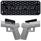 Magnetic Gun Mount & Holster for Vehicle and Home - HQ Rubber Coated 35 Lbs - Gun Magnet Firearm Accessories. Concealed Holder for Handgun, Rifle, Shotgun, Pistol, Revolver, Truck, Car, Wall, Safe...