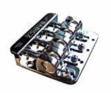 Babicz 4-String Bass Bridge Chrome, Original Series (FCH4CHP)