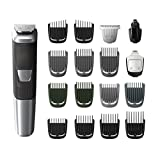 Philips Norelco Multi Groomer MG5750/49 - 18 piece, beard, body, face, nose, and ear hair trimmer and clipper