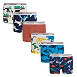 Boys Boxer Briefs Shorts, Cotton Dinosaur Shark Baby Toddler Underwear for Kids Boy 6 Pack 2/3t