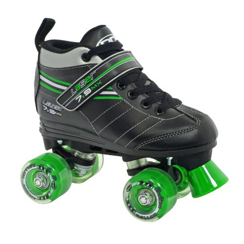 Roller Derby Boy's Laser Speed Quad Skate, Size 06
