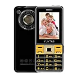 YUNTAB C333 Easy to Use Unlocked 2G Cell Phone for Seniors,Kids & Hearing Difficulty Person,Big Button Big Fonts Big Volume, 2.4 inch Anti-Fall(Black)