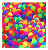 Icy Balls In Bright 2 Two Tone Colors - 27mm Bouncy Balls - Bulk Pack Of 144