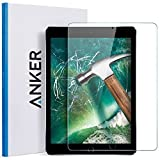 Anker  New iPad 9.7 in (2018/2018) / iPad Air 2 / iPad Pro 9.7 in / iPad Air Screen Protector, Anker Tempered Glass Screen Protector with Retina Display, Anti-Scratch, Smudge-Resistant, Easy Installation