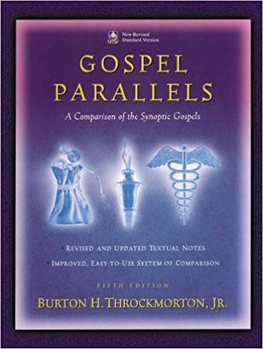 book cover of Gospel Parallels by Throckmorton