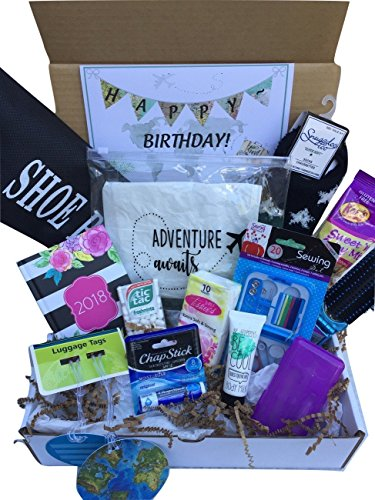 Complete Birthday Or Everyday Travel Gift Basket