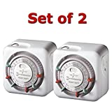 Intermatic TN311 15 Amp Heavy Duty Grounded Timer - 2-Pack