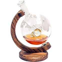 US Marines EGA Decor Globe Whiskey Decanter