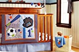 Baby 11pcs Sport Crib Bedding Set (with Changing pad Cover)