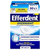 Efferdent PM Overnight Anti-Bacterial Denture Cleanser | 90 Tablets
