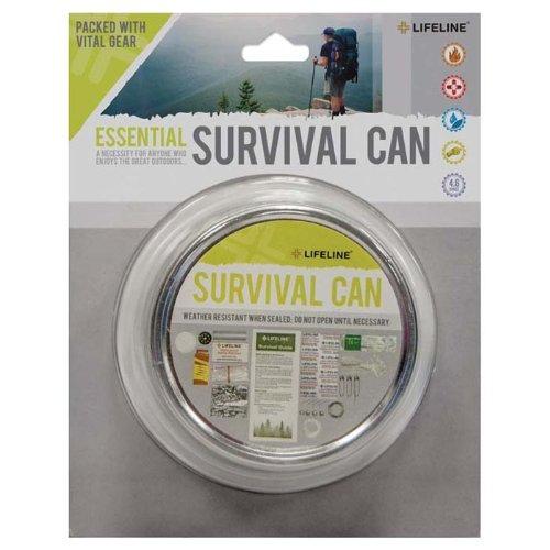 Lifeline 29-Piece Essential Survival Can