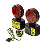 Blazer C6304 LED Wireless Magnetic Trailer Towing Light Kit