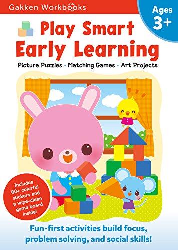 [kGzoG.E.B.O.O.K] Play Smart Early Learning 3+: For Ages 3+ (Gakken Workbooks) by Gakken P.D.F