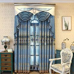 Blue Waterfall Insulated Valance