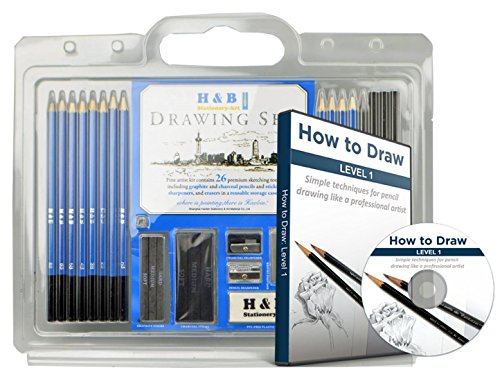 26 drawing pencils and drawing pencil set learn to draw with the