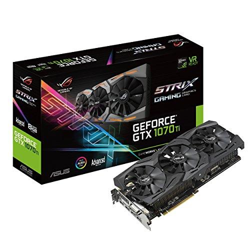 ASUS ROG Strix GeForce GTX 1070 Ti 8GB GDDR5...