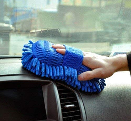 515lGj3mL4L Nilkanth Vila Multipurpose Microfibre Wash and Dry Cleaning Sponge (Color May Vary) car Washing Accessories,car wash sponges,Sponge for car Cleaning
