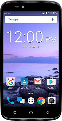 Cricket Wireless Coolpad - Canvas 4G LTE with 16GB Memory Cell Phone - Black