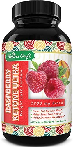 Blend Of Raspberry Ketones, Green Tea Extract And African Mango, Lose Weight Faster with Natural Ingredients To Speed Up Weight Loss, Suppress Appetite & Burn Fat, 60 Capsules 2